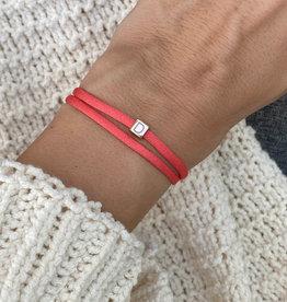 """""""D"""" / N*ITIAL  Armband oder Halskette  rosegold"""