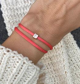 """""""F"""" / N*ITIAL  Armband oder Halskette  rosegold"""