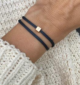 """""""I"""" / N*ITIAL  Armband oder Halskette  rosegold"""