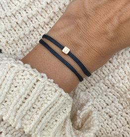 """""""K"""" / N*ITIAL  Armband oder Halskette  rosegold"""