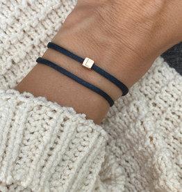 """""""L"""" / N*ITIAL  Armband oder Halskette  rosegold"""