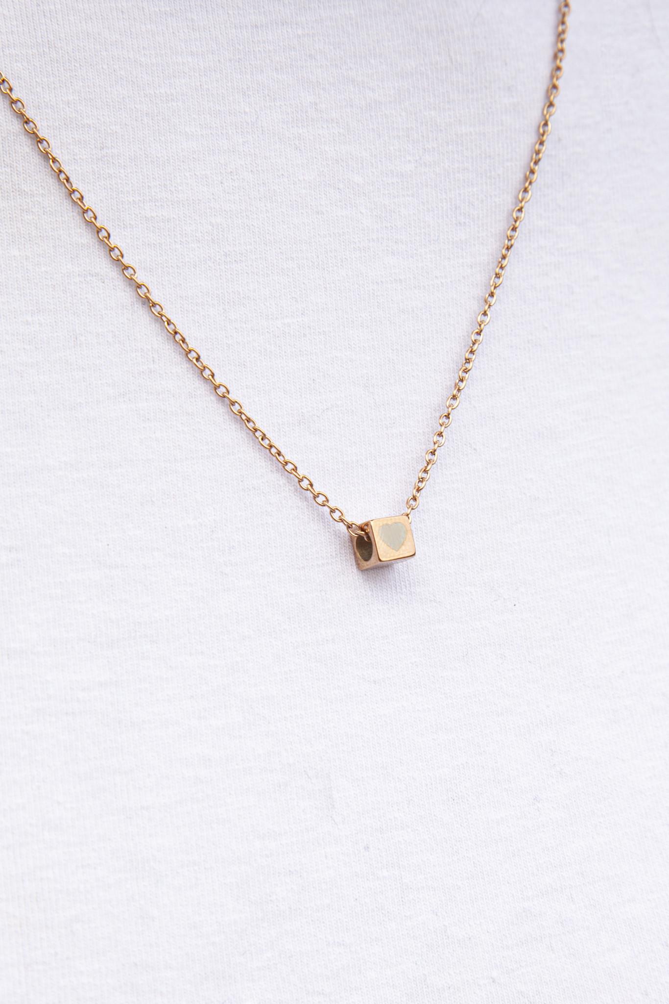 """N*ITIAL  Armband oder Halskette """"F"""" rosegold"""