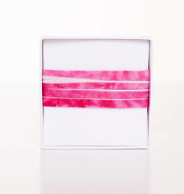 Pink-White striped lengthwise