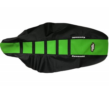 Motoseat Seatcover KX450F 12-15 / 250 13-16 Green/Black