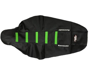 Motoseat Seatcover KX450F 12-15 / 250 13-16 Black/Green
