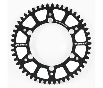 TMV Rear Sprocket Alu. 428 TM80/85 53t Black