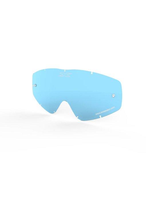EKS Brand GO-X ANTI-FOG LENS, BLUE TINT