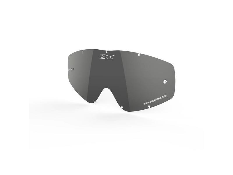 EKS Brand GO-X ANTI-FOG LENS, SILVER/MIRROR