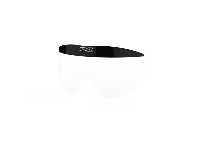 EKS Brand GO-X ZIP OFF VISOR 3 PACK