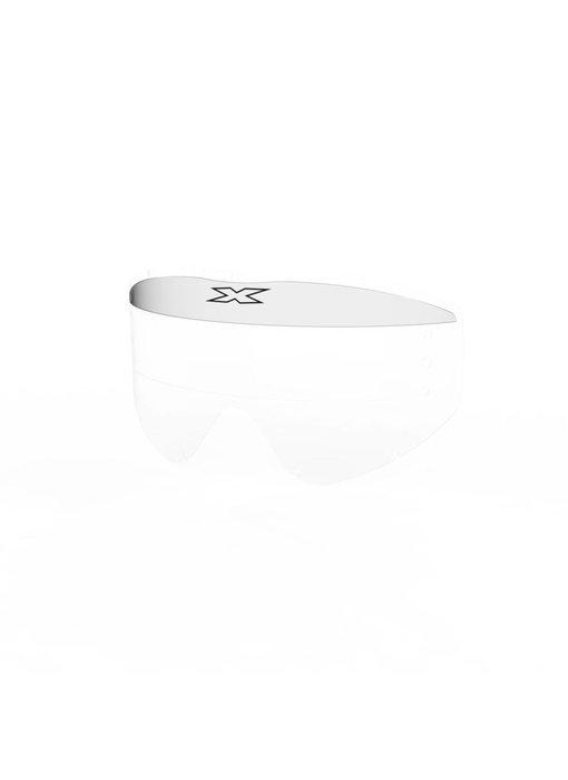 EKS Brand EKS-S XL Mud visor, clear 3 pack
