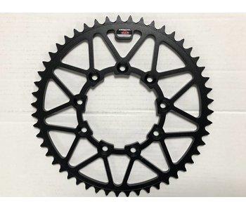 Rearsprocket SMC / TM Racing / 49t Steel (Black)