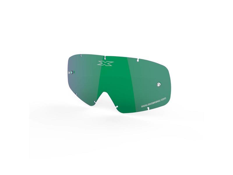 EKS Brand X-GROM ANTI-FOG LENS, GREEN/MIRROR