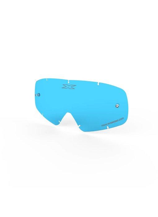 EKS Brand X-GROM ANTI-FOG LENS, BLUE TINT