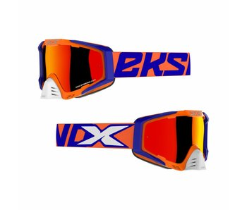 "EKS Brand ""EKS-S"" Flo Orange/Blue/White"