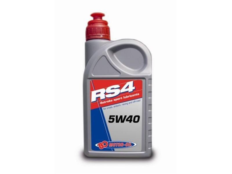 BO Motor Oil RS4 Sport 5W40 Full Synth Jaso MA - 1 Liter