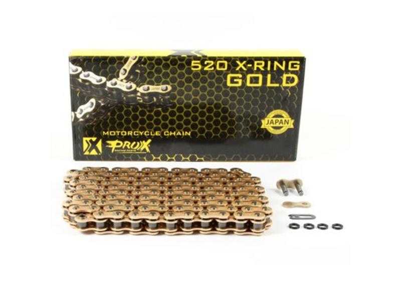 ProX Racing X-Ring Rollerchain Gold 520 x 120 L