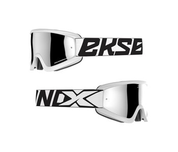 "EKS Brand / 2019 ""EKS Flat Out MIRROR - White/Silver"""