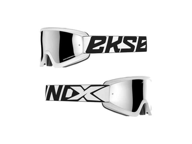 "EKS Brand  / 2019 ""EKS Flat Out MIRROR - White/Silver"""