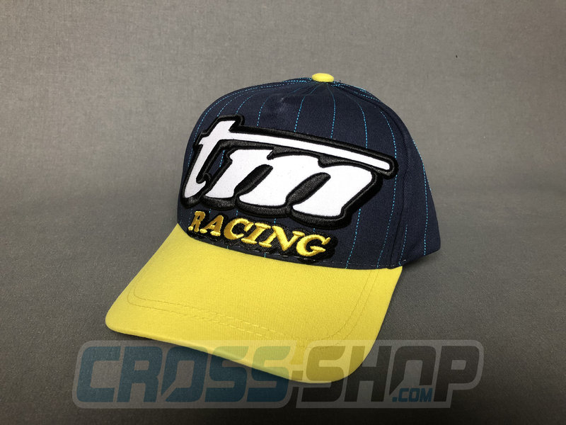 TM Racing CAP Baseball M.19 BLUE/YELLOW