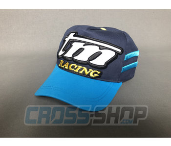 TM Racing CAP Baseball M.19 BLUE/LIGHT BLUE