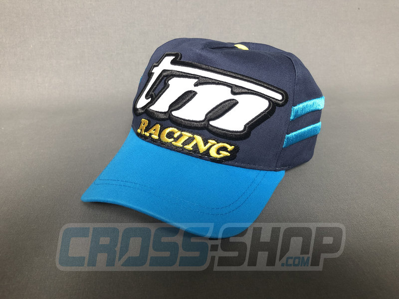 TM Racing CAP Baseball M.19 BLUE/LIGHT BLUE