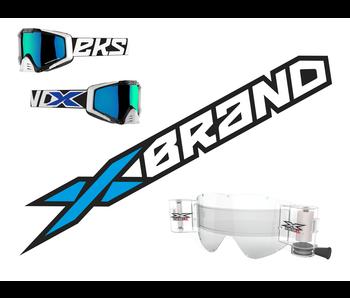 """EKS Brand """"EKS-S"""" Black/White/Blue - RACERPACK"""