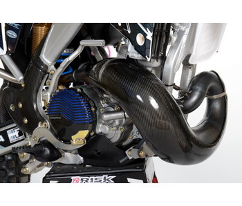 Carbon Exhaust guard TM Racing MX/EN 250/300 20019-....for HGS