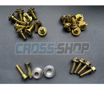 TM Racing Bolt kit - Plastics (04-..)