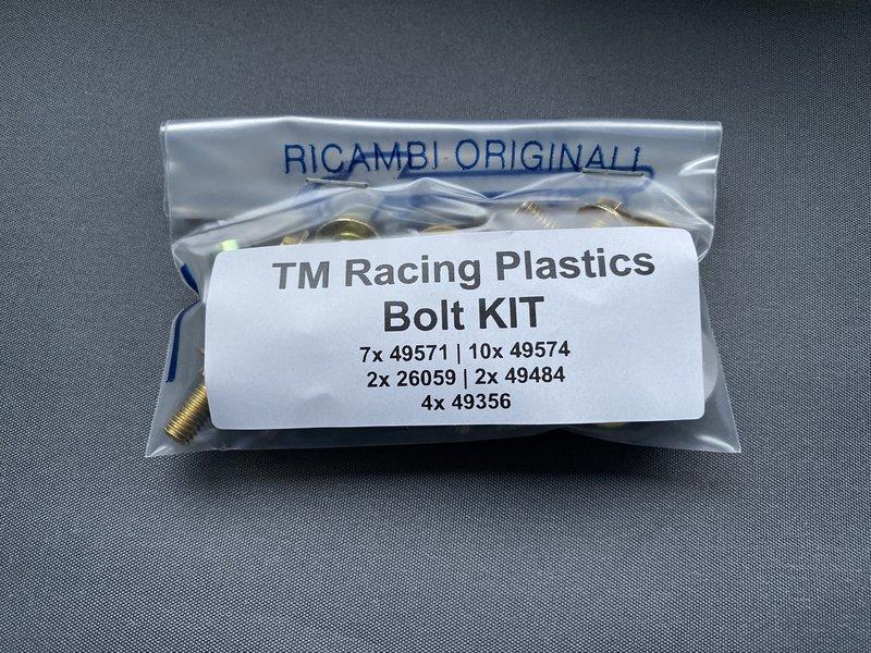 TM Racing Bolt kit - Plastics (04-..)