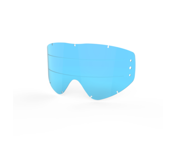 EKS Brand EKS-S Zip off lens Blue / Lined