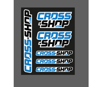 CROSS-SHOP.com Stickervel 25x20cm