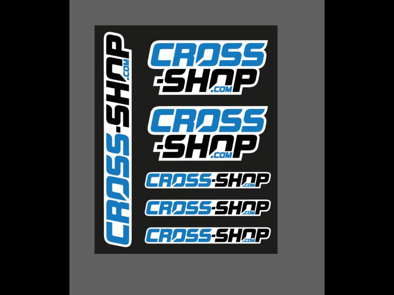 CROSS-SHOP.com sticker sheet 25x20cm