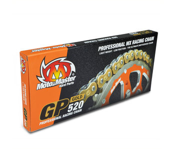 Moto-Master Chain GP-520Gold (120 links, with clip)
