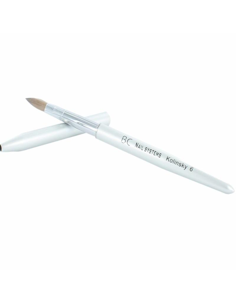 BC Nails Kolinsky Acrylic Brush # 6