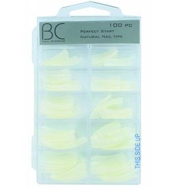BC Nails BC Nails Perfect Start Natural Nail Tips 100 stuks