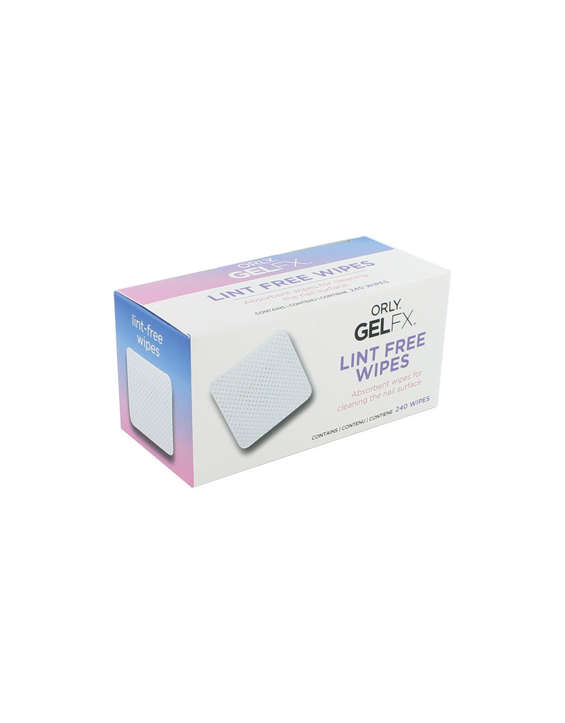 ORLY GELFX Lint Free Nail Wipes 240 pack