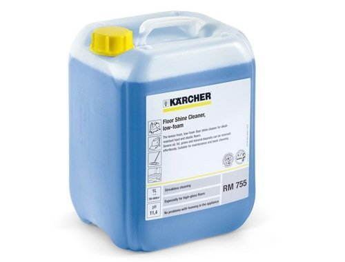 Kärcher Kärcher schoonmaakmiddel Floor gloss cleaner  agents 755  | 200 Liter