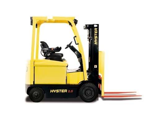 Elektrische heftruck huren Hyster E2.5 XN