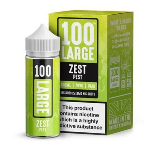 Zest Pest By 100 Large 100ml 0mg