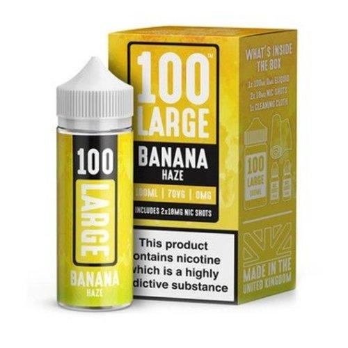 Banana Haze By 100 Large 100ml 0mg