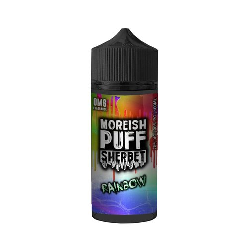 Rainbow By Moreish Puff Candy Drops 100ml 0mg