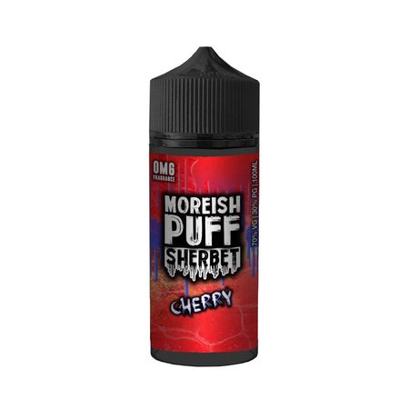 Cherry By Moreish Puff Sherbet 100ml 0mg