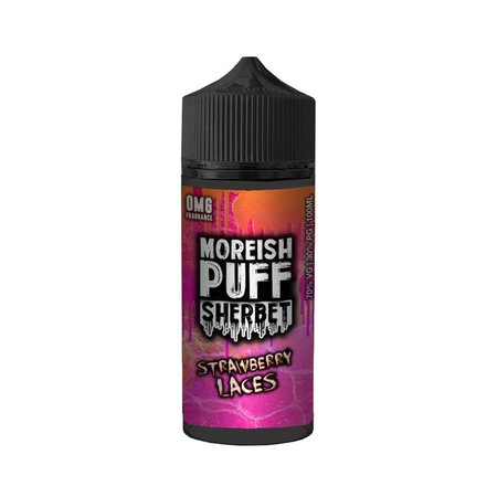 Strawberry Lace By Moreish Puff Sherbet 100ml 0mg