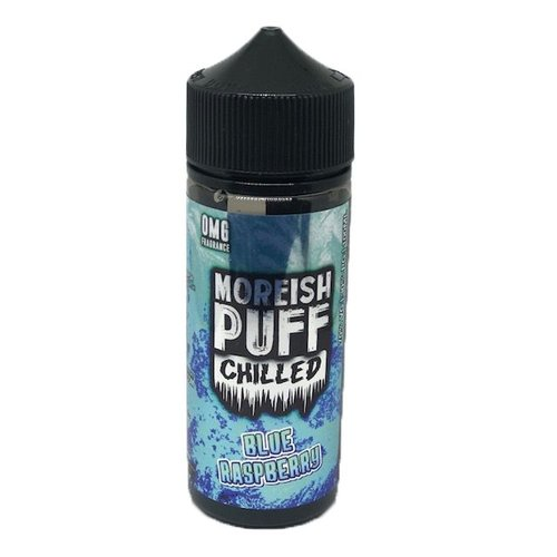 Blue Raspberry By Moreish Puff Chilled 100ml 0mg