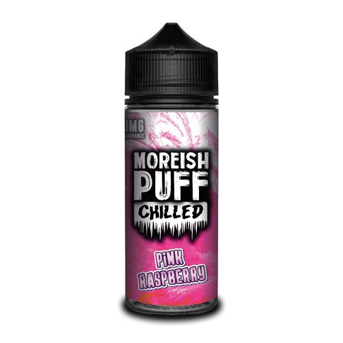 Pink Raspberry By Moreish Puff Chilled 100ml 0mg