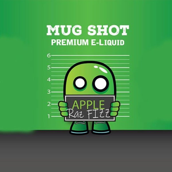 Apple Raz Lemonade Mugshot  Shortfill (free nic shot)