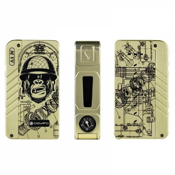 M VV Box Mod By Dovpo Gold Monkey