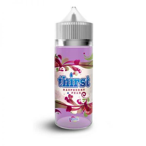 Raspberry and Pear By Thirst 100ml 0mg