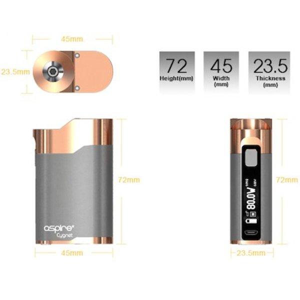Aspire Cygnet 80W Battery Mod