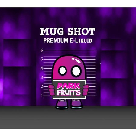 Mood Eliquid Dark Fruits Mugshot Shortfill (free nicshot)
